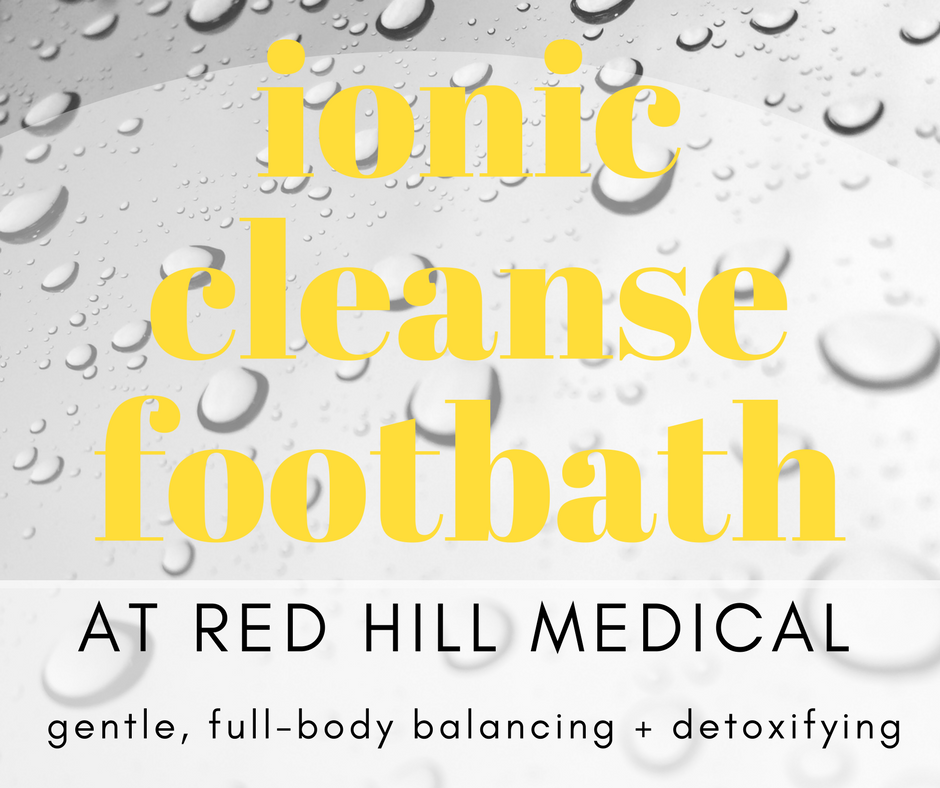 Ionic Cleanse Footbath