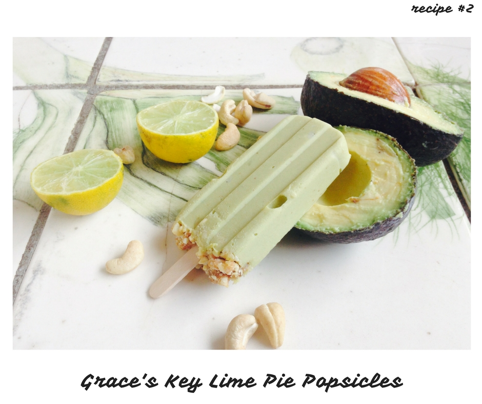 Grace's Key Lime Pie Pops