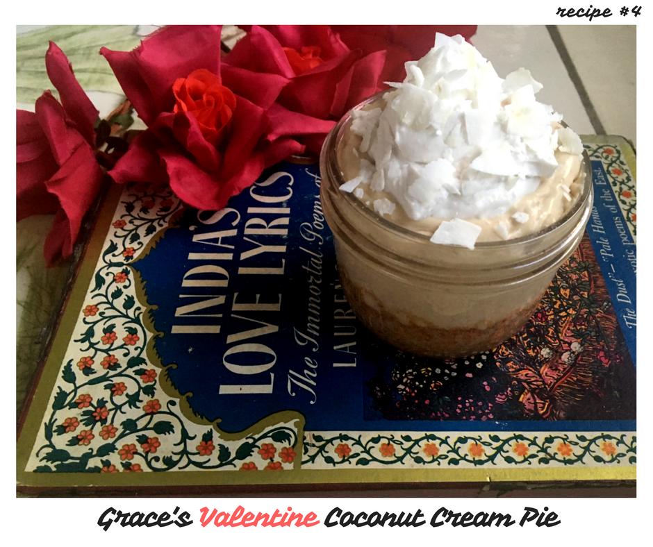Grace's Valentine Coconut Cream Pie