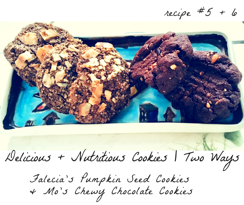 superfood cookies | 2 ways