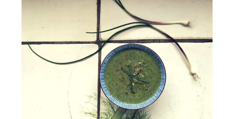 simple nettle soup
