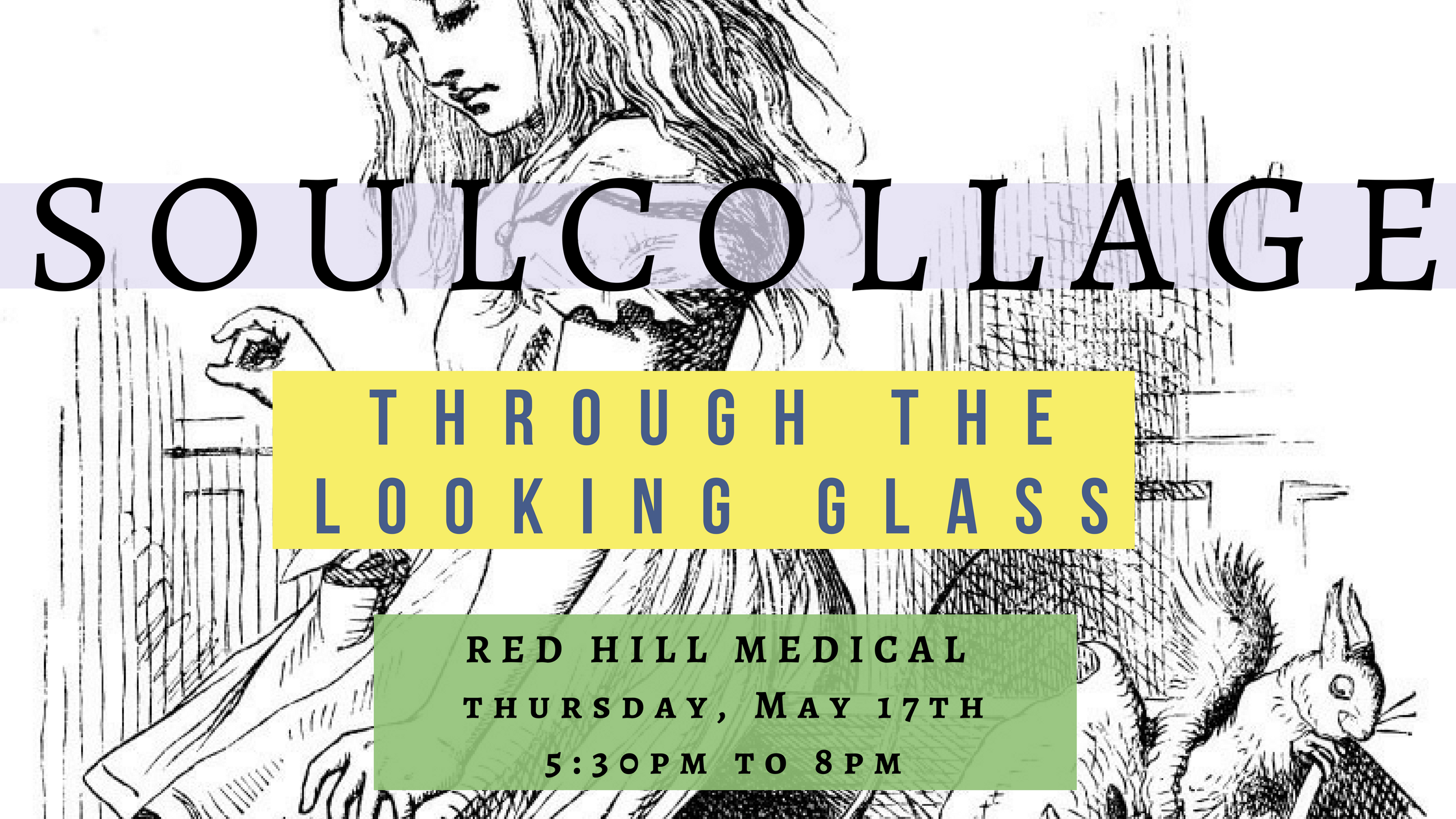 SoulCollage | Through the Looking Glass