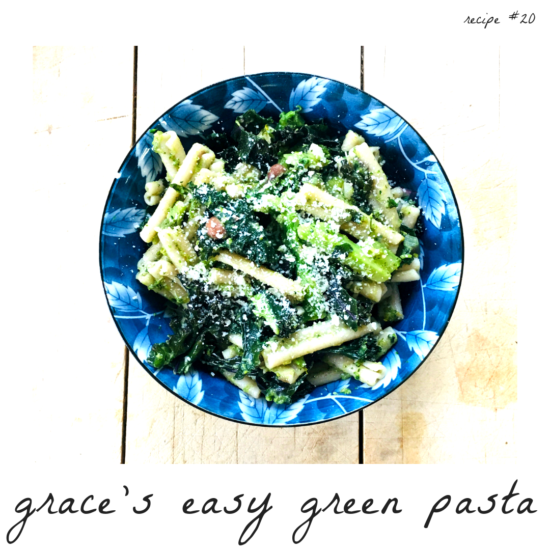 Easy Green Pasta