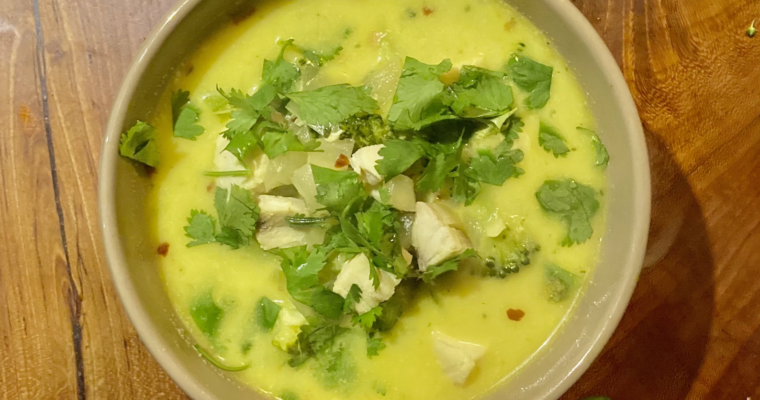 Coconut Ginger Stew